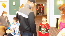 Guests enjoy Jordan Leopold Time
