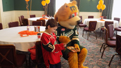 Nordy with little Parise Fan!