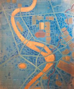 TIBER AETERNUM-mappa di Roma 31 A.C.