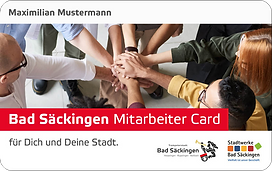 Bad Säckingen Mitarbeiter Card
