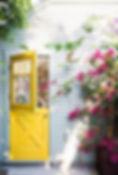 Country Yellow Door
