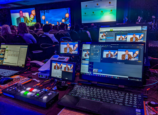 Sales meeting live stream