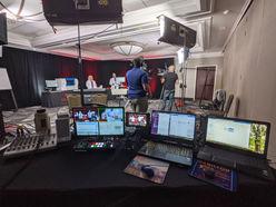 National live stream setup