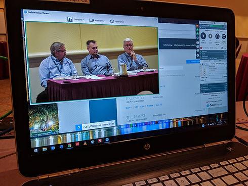 Business live stream event