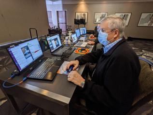 Managing a webcast