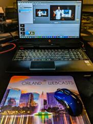 A custom mousepad for our gear