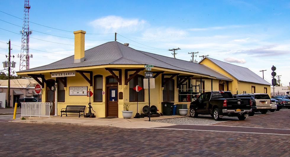 Central Florida Railroad Museum in Winter Garden, Florida