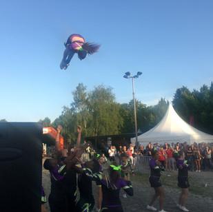 Waghalsige Stunts