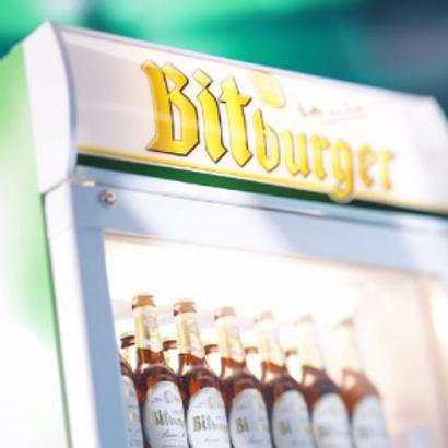 Kühltruhe mit Getränke-Befüllungsservice