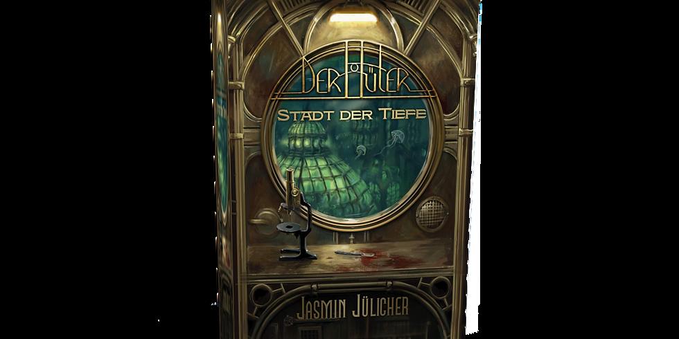 """Lesung aus """"Der Hüter - Stadt der Tiefe"""""""