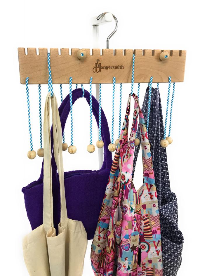 Tote Bags On Beech Hanger