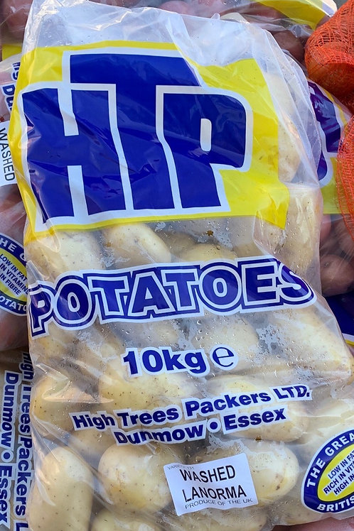 Washed Potatoes 10kg