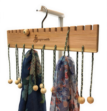 Scarves On Cedar Hanger