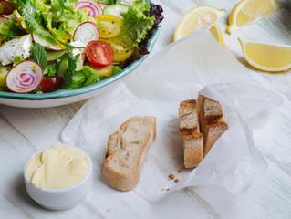 A importância da alimentação para uma boa saúde.