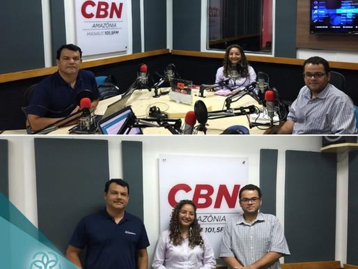Marcelo Zacarias é entrevistado na CBN