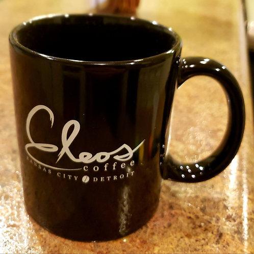 Eleos KC & Detroit Black Classic Mug
