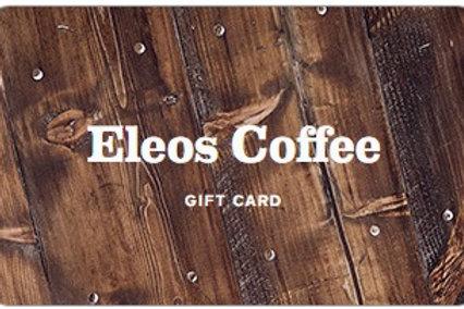 Eleos Coffee Gift Card