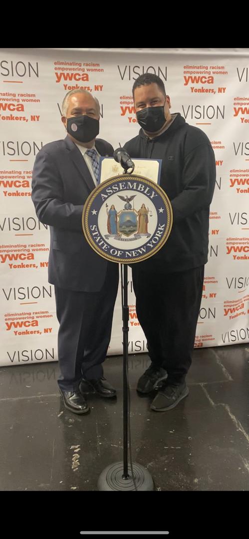 Assemblyman Sayegh and Mr. Lamont Otto