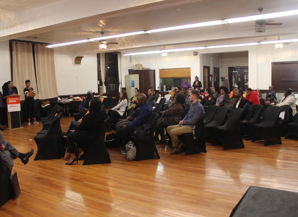 Domestic violence panel discussion