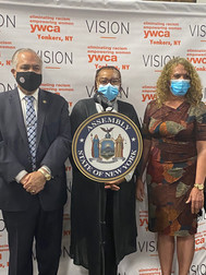 Assemblyman Sayegh, Ms. Rogers & CEO, Charlie Knight