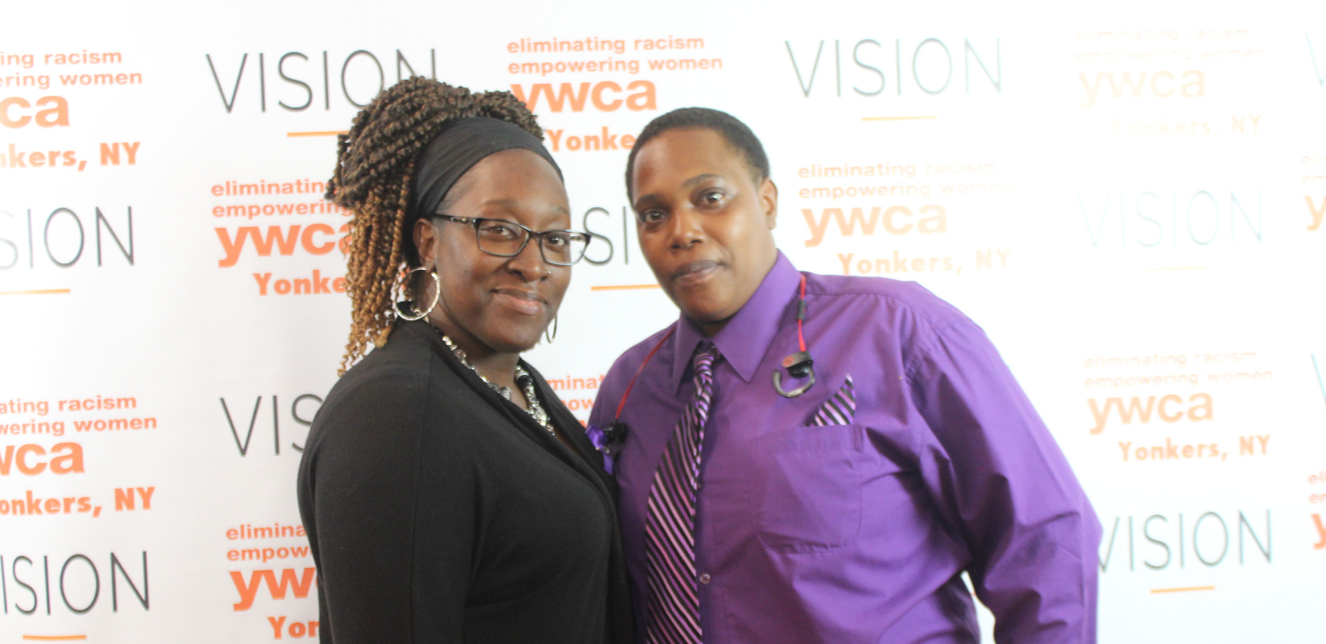 Y team member Shaquonia and Starr