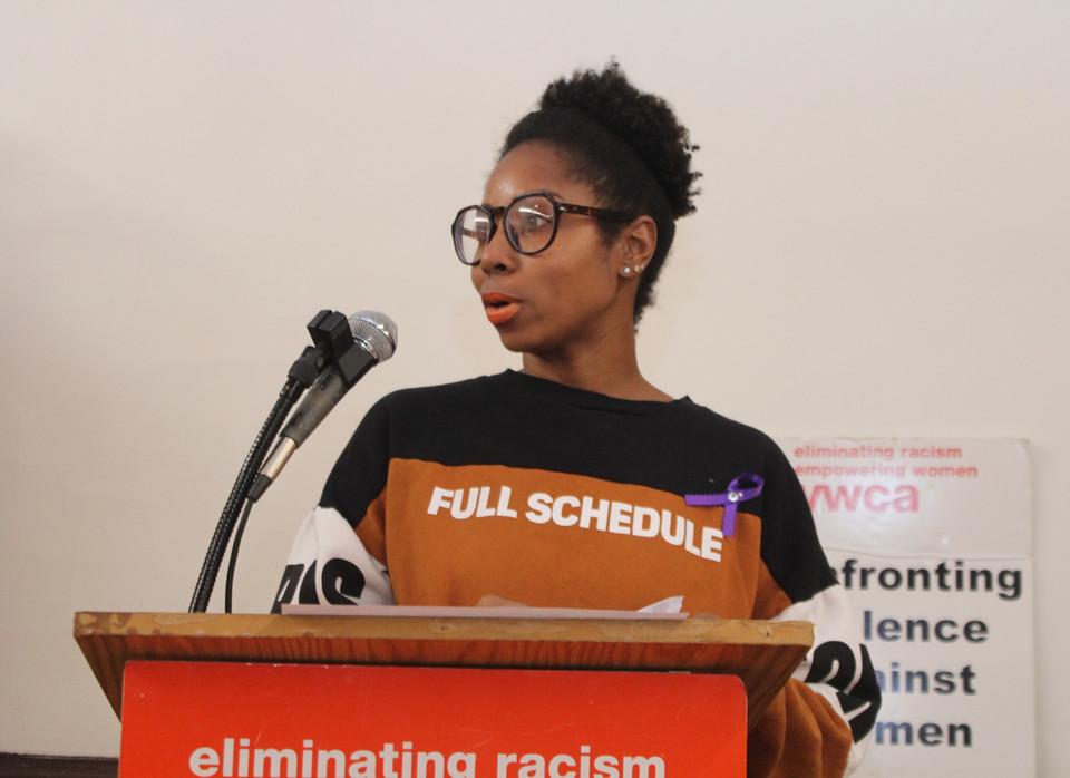 Mitzi Walker serves as moderator
