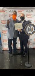Mr. Richard Crews & Assemblyman Sayegh