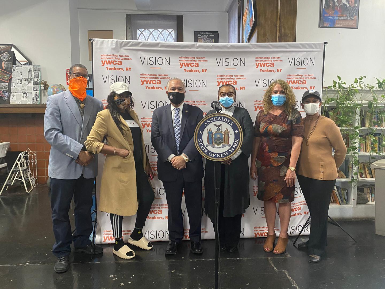 Assemblyman Sayegh and YWCA Yonkers Staff