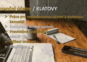 Finanční účetní / Klatovy
