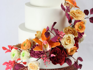 Fall Wedding Sweet Symphony