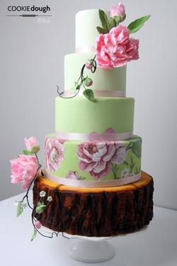The Rustic Cake