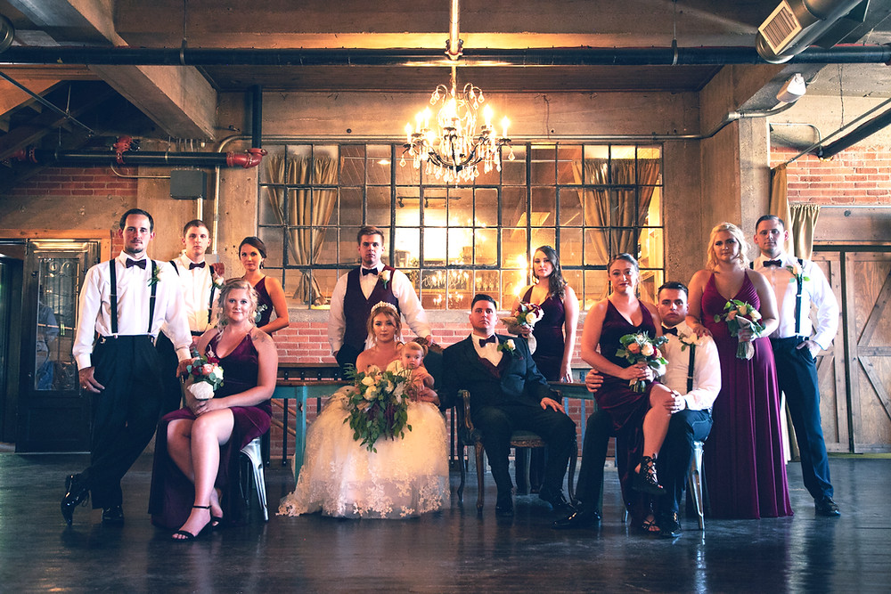 Crosslet Photography and Videography Wedding Party Photo