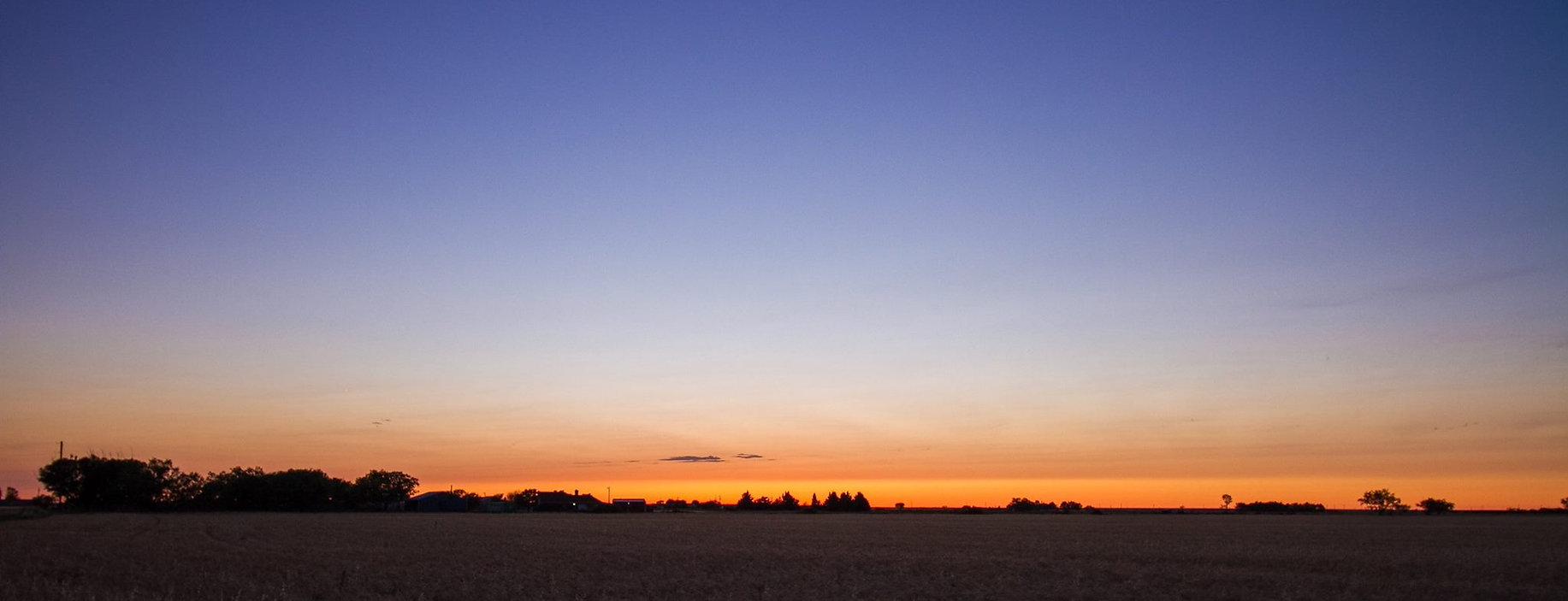 Sunset over Abilene, Texas Landscape Photography