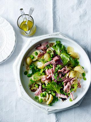 Ham Hock, Broad Beans & Potato Salad