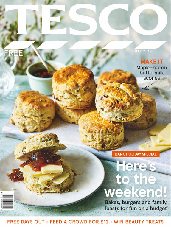 Tesco Magazine Cover May 2019