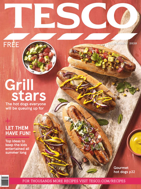 Tesco Magazine July & August 2020 Cover