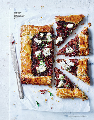 Caramelised Onion Goats Cheese Galette