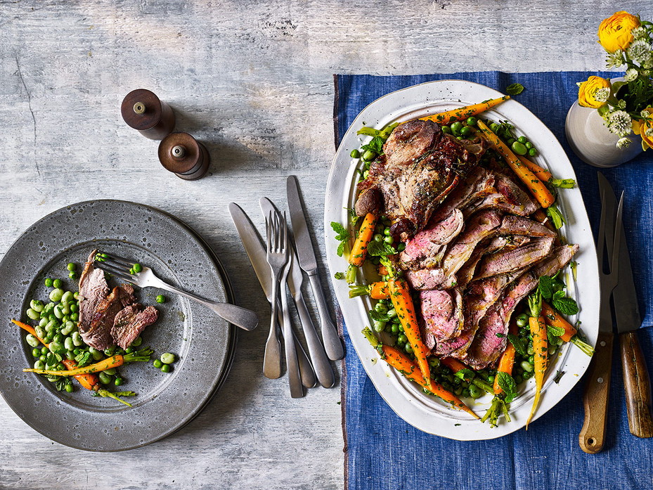 Healthy Easter Lamb