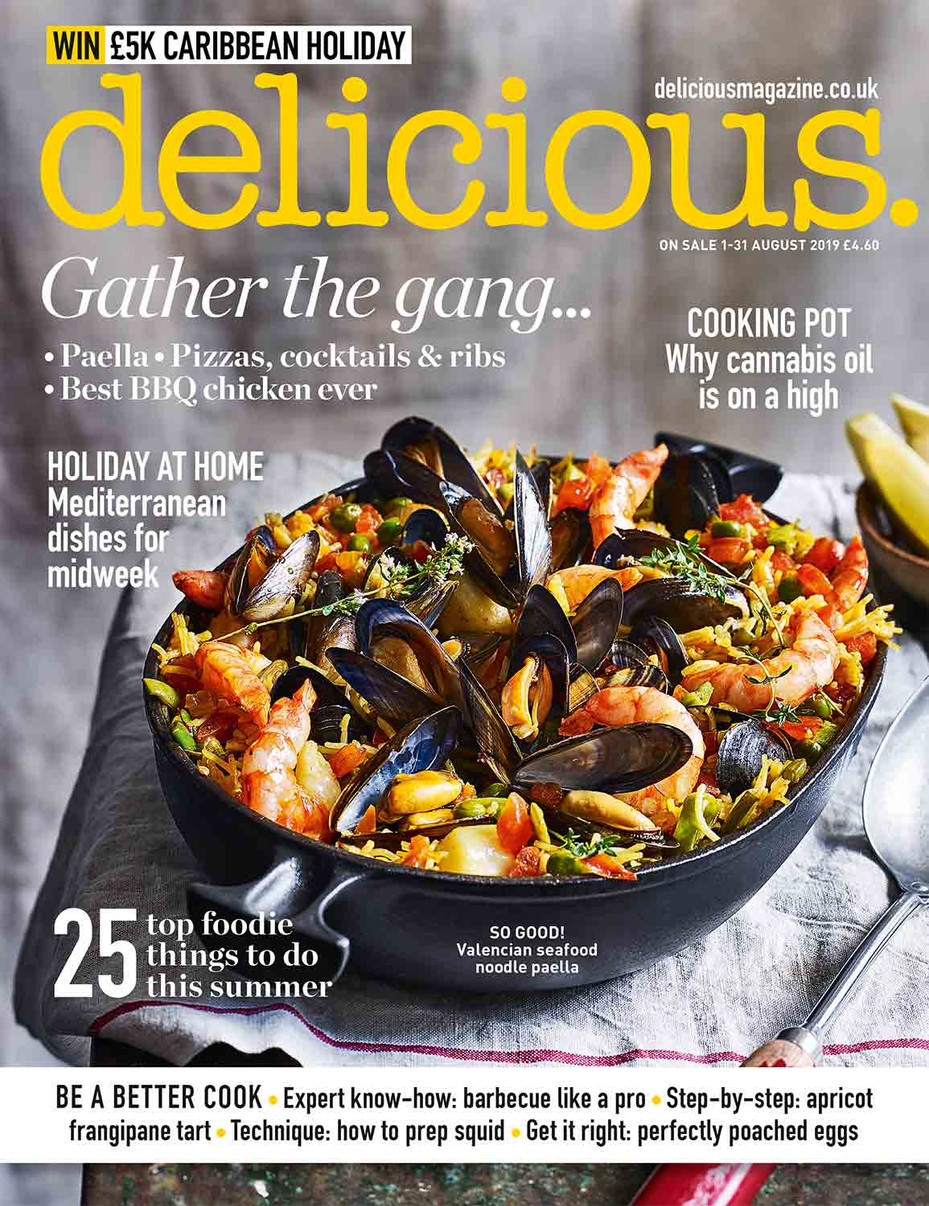Delicious magazine August 2019