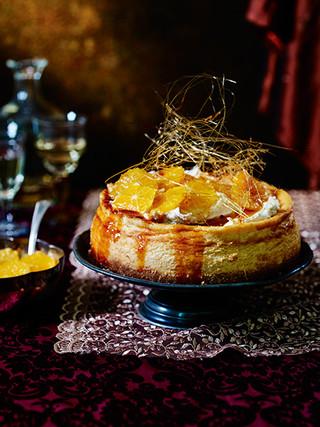 Caramelised Orange Cheese Cake