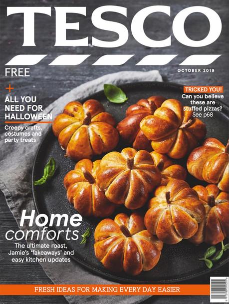 Tesco Magazine October 2019 Cover