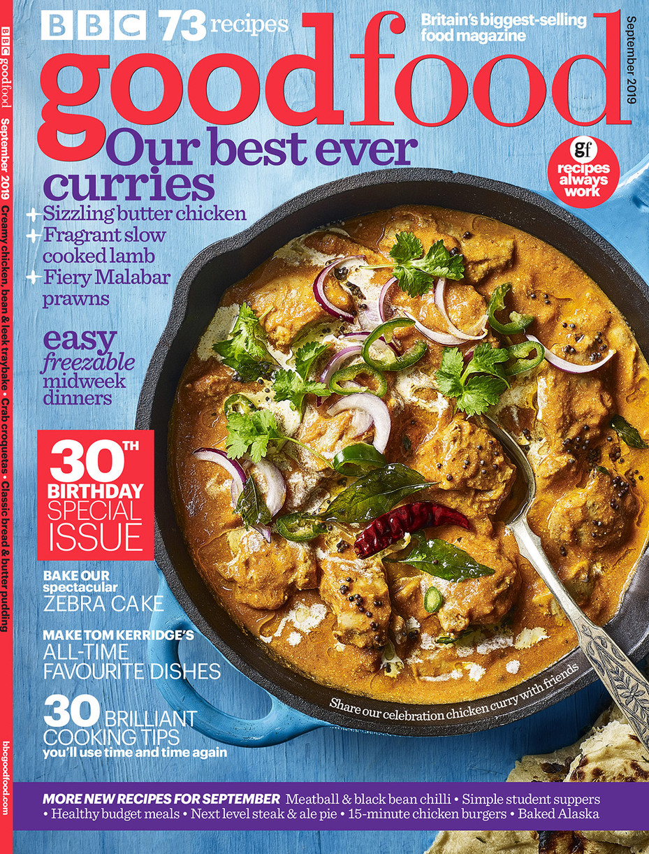 Good Food Magazine Cover September 2019