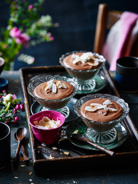 Milk Chocolate and Coconut Mousse