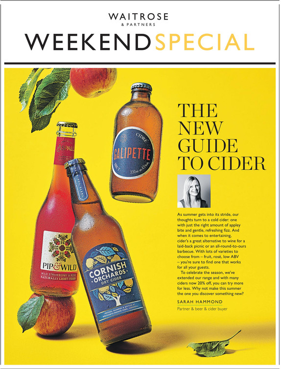Waitrose Weekend Cider Special