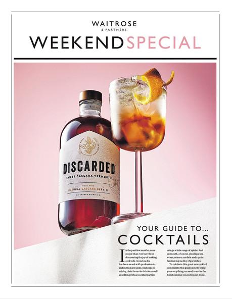 Waitrose Weekend Cocktails Special