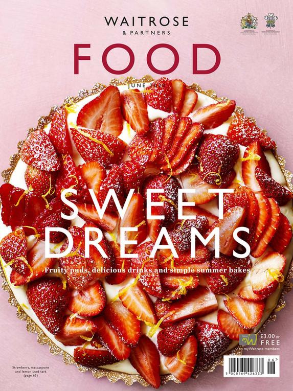 Waitrose Food Magazine June 2020 Cover