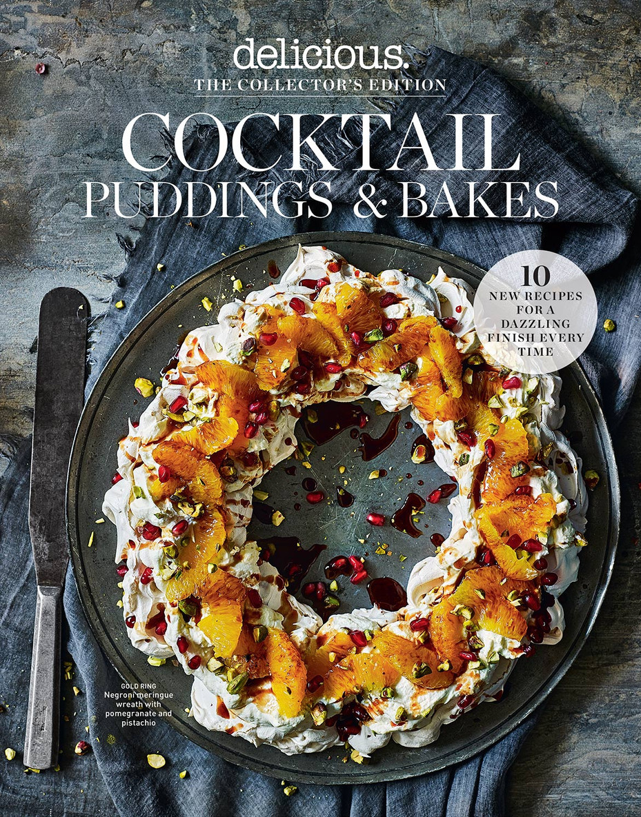 Delicious Magazine Cocktail Puddings Bakes Collectors Edition