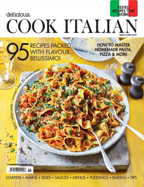Delicious - Cook Italian Cover