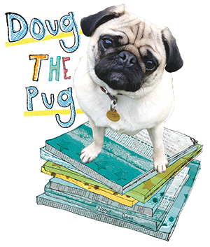 Doug the Pug Therapy Dog Logo.png