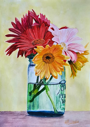 'A jar full of Summer'
